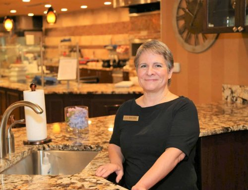 Meet Cheryl Naftel, senior director of dining services.