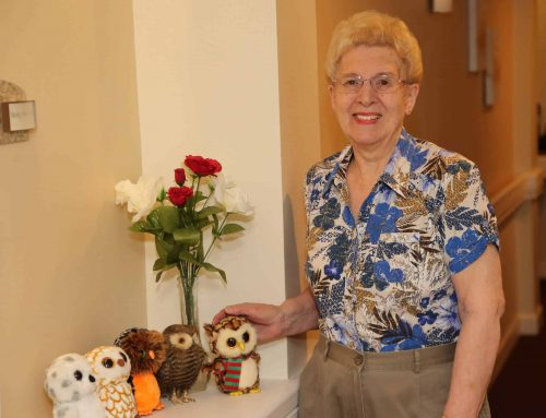 Volunteering is a lifestyle for resident of Beaumont Commons, Dearborn