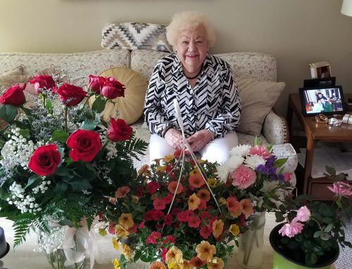 Helen Szelc celebrated 90th birthday on Mother's Day with a unique family bond
