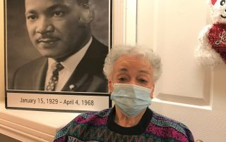 Whitaker shares about Dr. King's legacy of non-violence