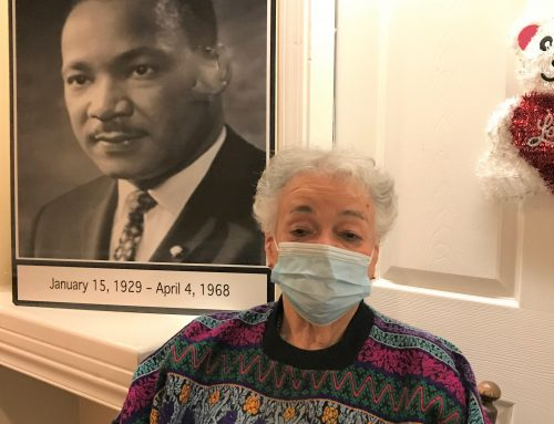 Residents of Beaumont Commons, Dearborn reminisce about  Martin Luther King, Jr.